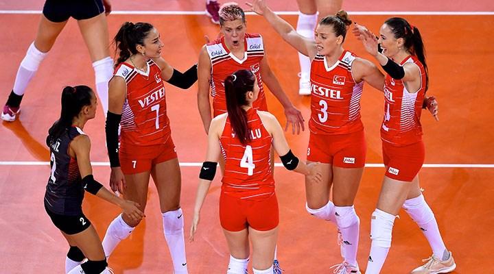 A Milli Kadın Voleybol Takımı, Avrupa Şampiyonası'nda yarı finalde!