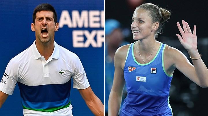 ABD Açık'ta Djokovic ve Pliskova çeyrek finale yükseldi