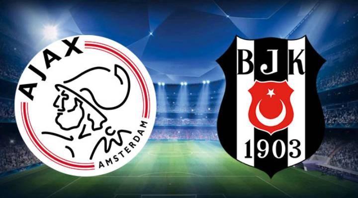 Ajax ve Beşiktaş'ın 11'leri belli oldu