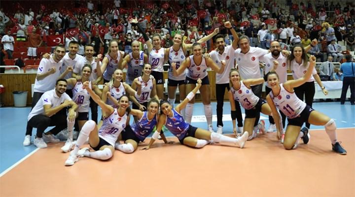 Aydın'ın Sultanları Balkan Kupası şampiyonu oldu