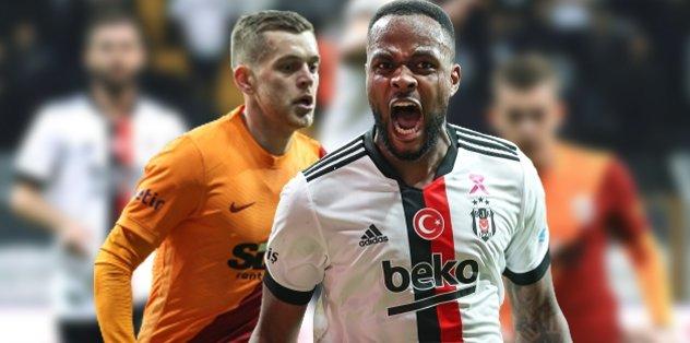 Beşiktaş Galatasaray: 2-1 | MAÇ SONUCU ÖZET | Beşiktaş Galatasaray'ı Larin'le devirdi!
