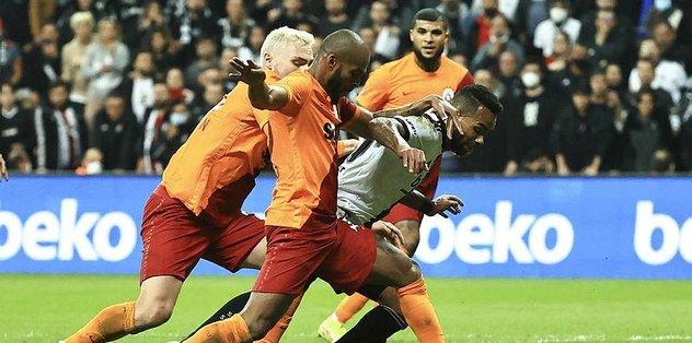 Beşiktaş Galatasaray maçında tartışılan anlar! 3 pozisyonda penaltı beklendi