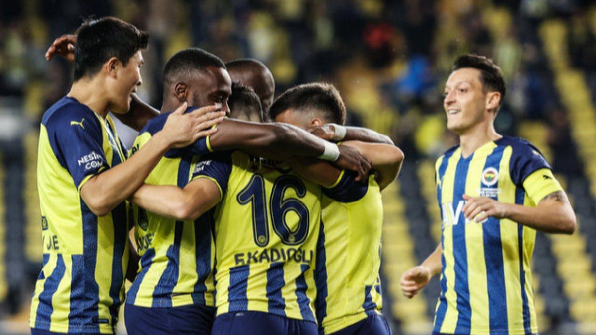 Fenerbahçe-Kasımpaşa maçının ilk 11'leri