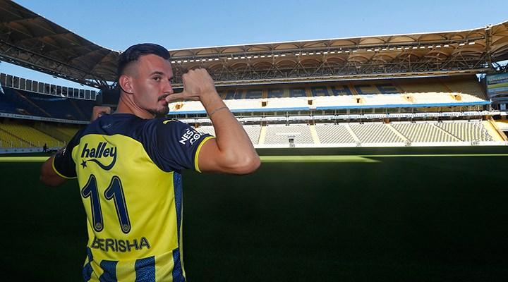 Fenerbahçe'nin yeni forveti Mergim Berisha