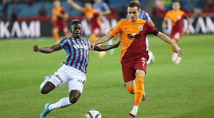 Galatasaray ile Trabzonspor 2-2 berabere kaldı