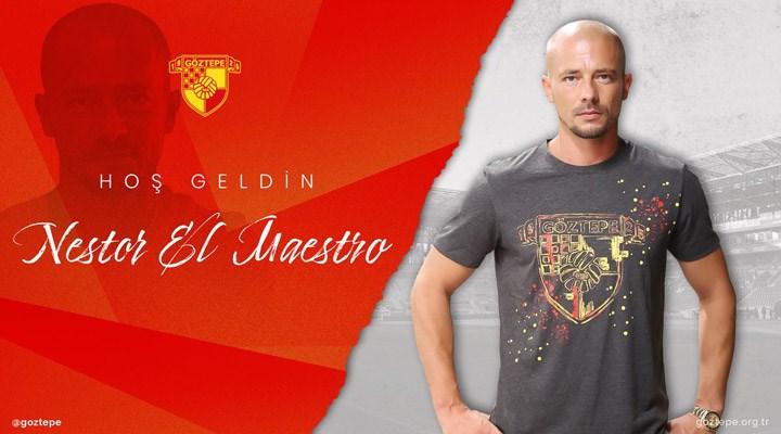 Göztepe'nin yeni teknik direktörü El Maestro oldu