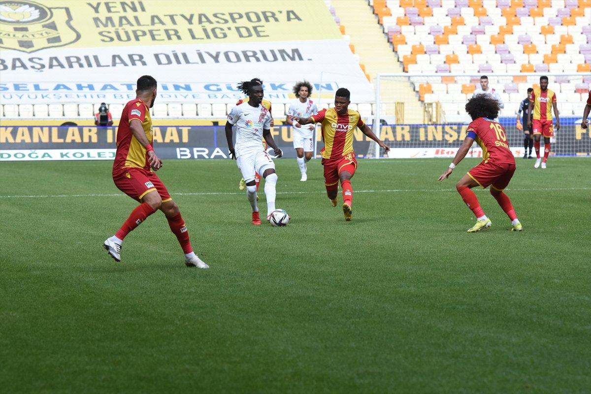 Hatayspor, deplasmanda Yeni Malatyaspor u mağlup etti #1