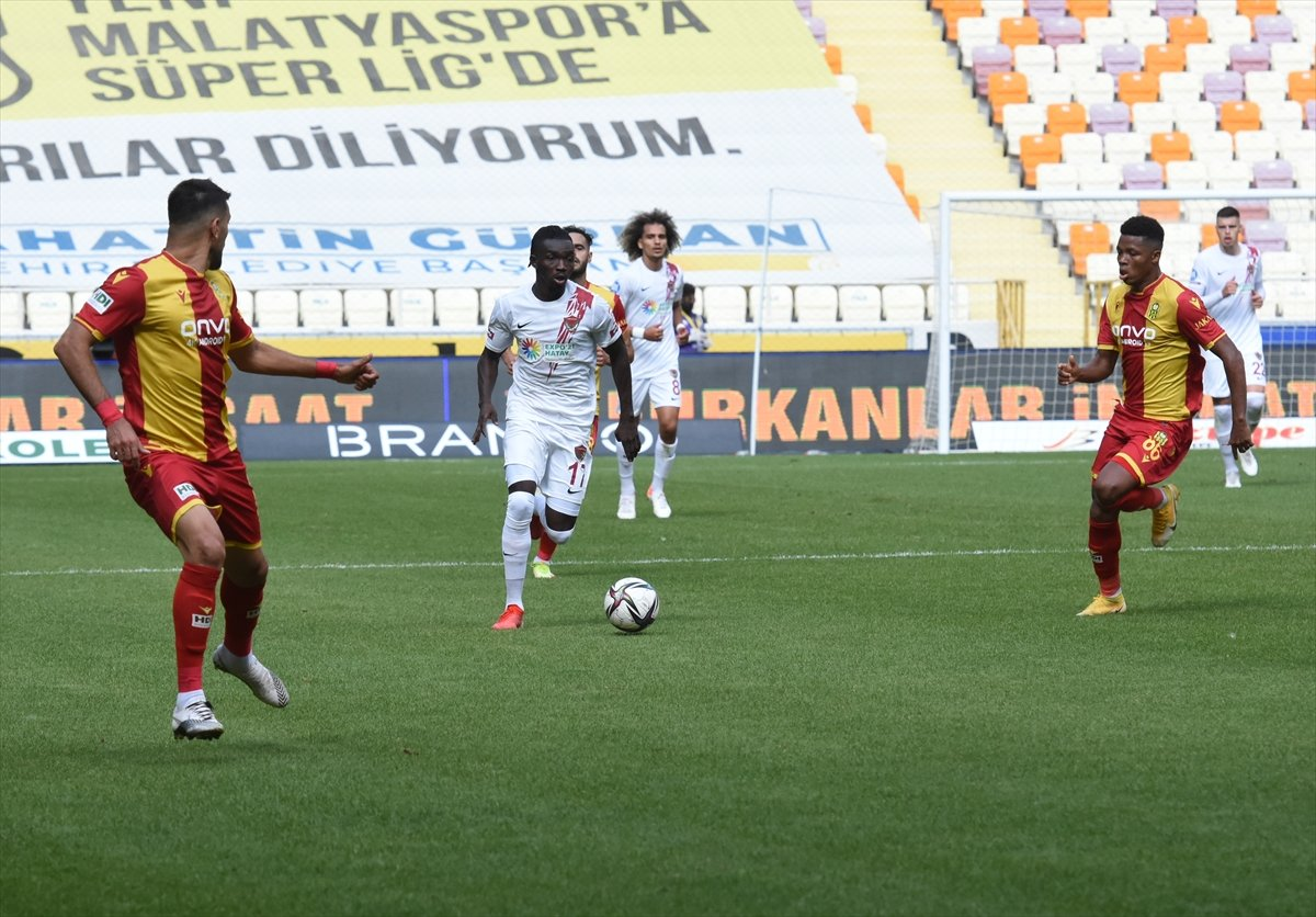 Hatayspor, deplasmanda Yeni Malatyaspor u mağlup etti #2