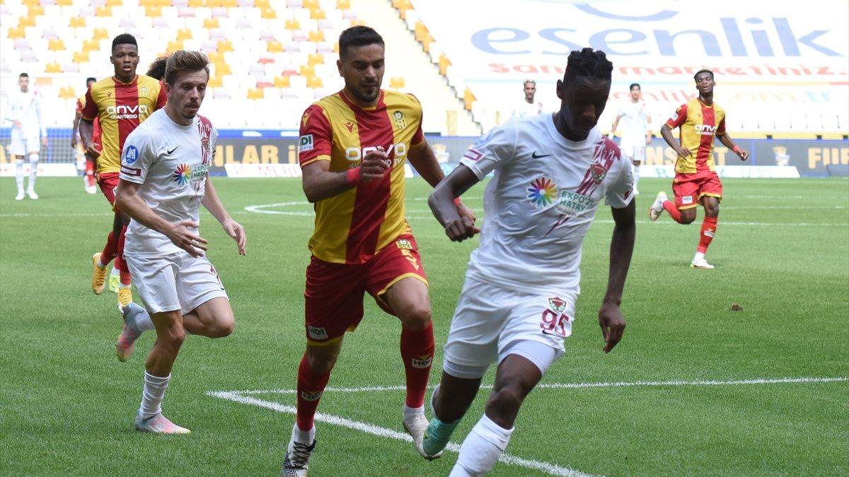 Hatayspor, deplasmanda Yeni Malatyaspor'u mağlup etti