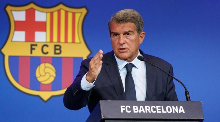 Laporta: Avrupa Süper Ligi'nin devam etmesini engellemek için UEFA hiçbir şey yapamaz