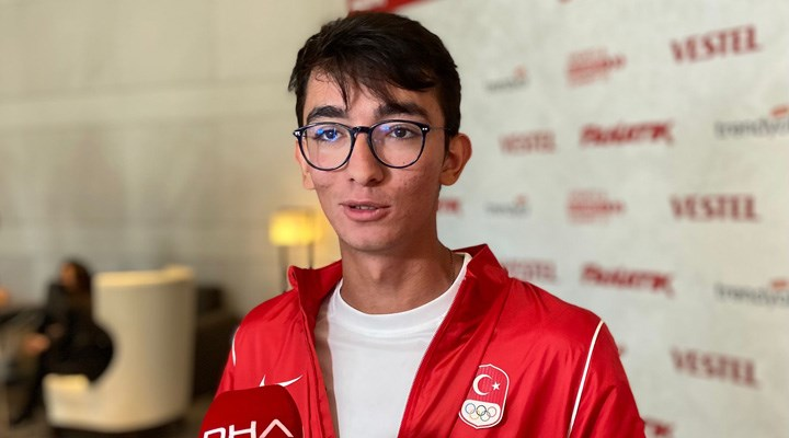 Mete Gazoz: Paris Olimpiyatları'nda bir ilke imza atmak istiyoruz