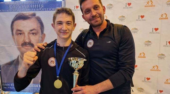Milli sporcu Yalgın Yeter, Ukrayna'da altın madalya kazandı